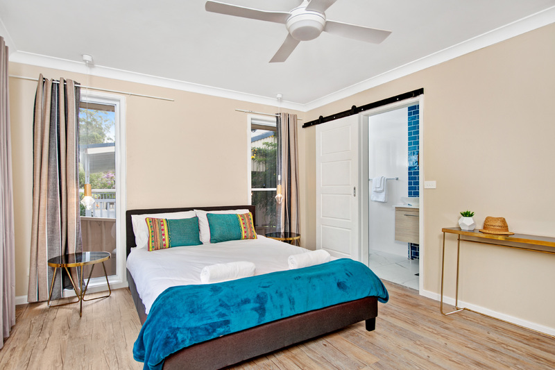 Master suite – mollymook holiday house